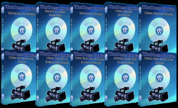 Product picture Wordpress Training Videos with Master Resell Rights