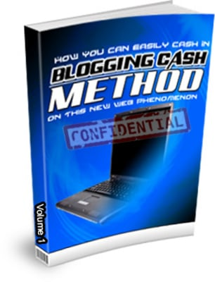 Product picture How To Make Blog - Blogging Cash Method Vol 1